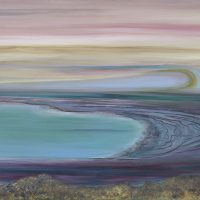 A View from Masada | 508mm x 762mm (sold)