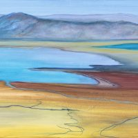 A View from Masada II | 610mm x 762mm | £125.00 (unframed)