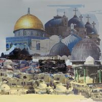 Jerusalem | 508mm x 609mm | (sold)