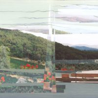 Tuscan View | 605mm x 295mm | £105.00 (unframed)