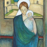 Madonna and Child | 406mm x 406mm | £395.00