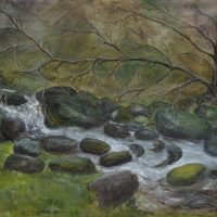 The Stream |  660mm X 460mm | (sold)