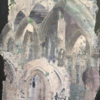 Tintern Abbey | 600mm X 400mm | (sold)